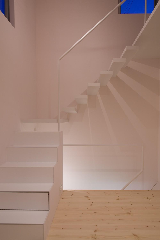 その他事例:階段(南加瀬の住宅)