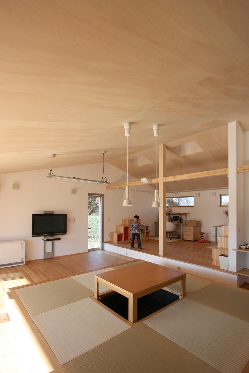 トウモロコシ畑の家の部屋 子供スペース