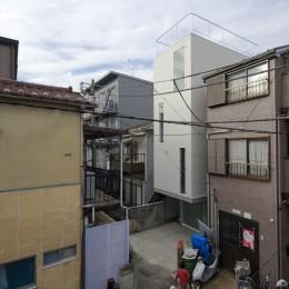 恵比寿の住宅 (外観)