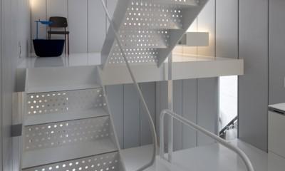 恵比寿の住宅 (階段)