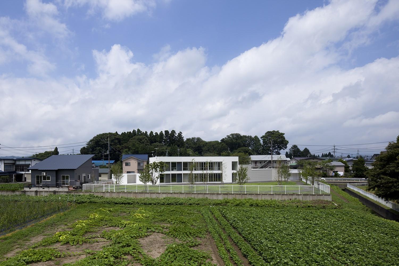 外観事例:外観(鷹ノ巣の2世帯住宅)