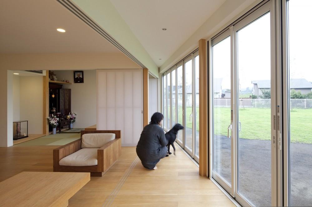 鷹ノ巣の2世帯住宅 (1階サンルーム)