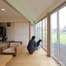 鷹ノ巣の2世帯住宅の写真 1階サンルーム