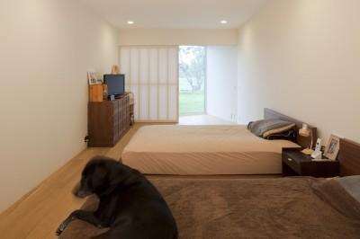 1階寝室 (鷹ノ巣の2世帯住宅)