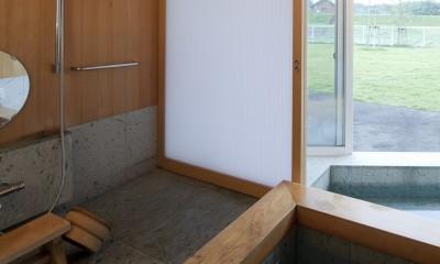 鷹ノ巣の2世帯住宅 (1階浴室)