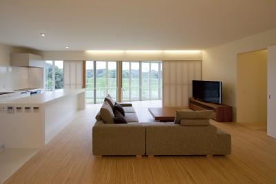 2階LDKスペース (鷹ノ巣の2世帯住宅)