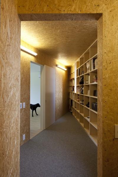 2階収納スペース (鷹ノ巣の2世帯住宅)
