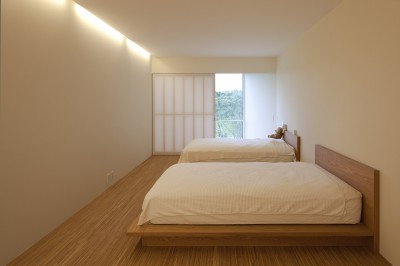 2階寝室 (鷹ノ巣の2世帯住宅)