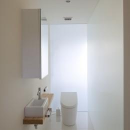 鷹ノ巣の2世帯住宅 (2階トイレ)