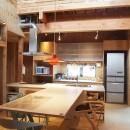 両親が建てた家をリノベして住み継ぐ|Sumire houseの写真 ダイニング・キッチン