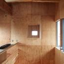 両親が建てた家をリノベして住み継ぐ|Sumire houseの写真 吹き抜けに面したベッドルーム