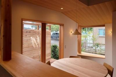 舞岡の家 (ダイニング)