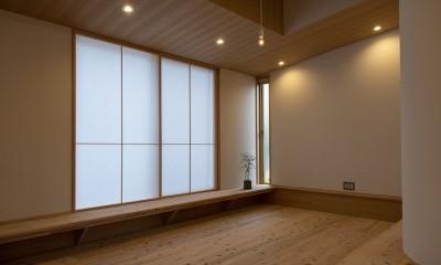 舞岡の家 (リビング)
