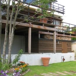 住まう楽しみ-100年住み継ぐ家-借景をいかしたシンプルで高品位な住まい