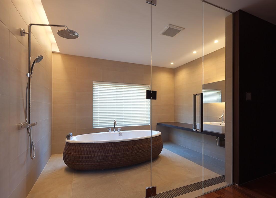 バス/トイレ事例:2階浴室(RELAXATION HOUSE)