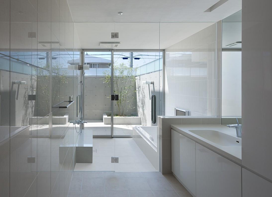 バス/トイレ事例:洗面浴室(UP! House)