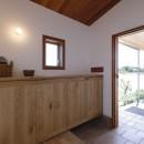 緑あふれる癒しの家の写真 玄関
