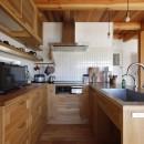 緑あふれる癒しの家の写真 キッチン