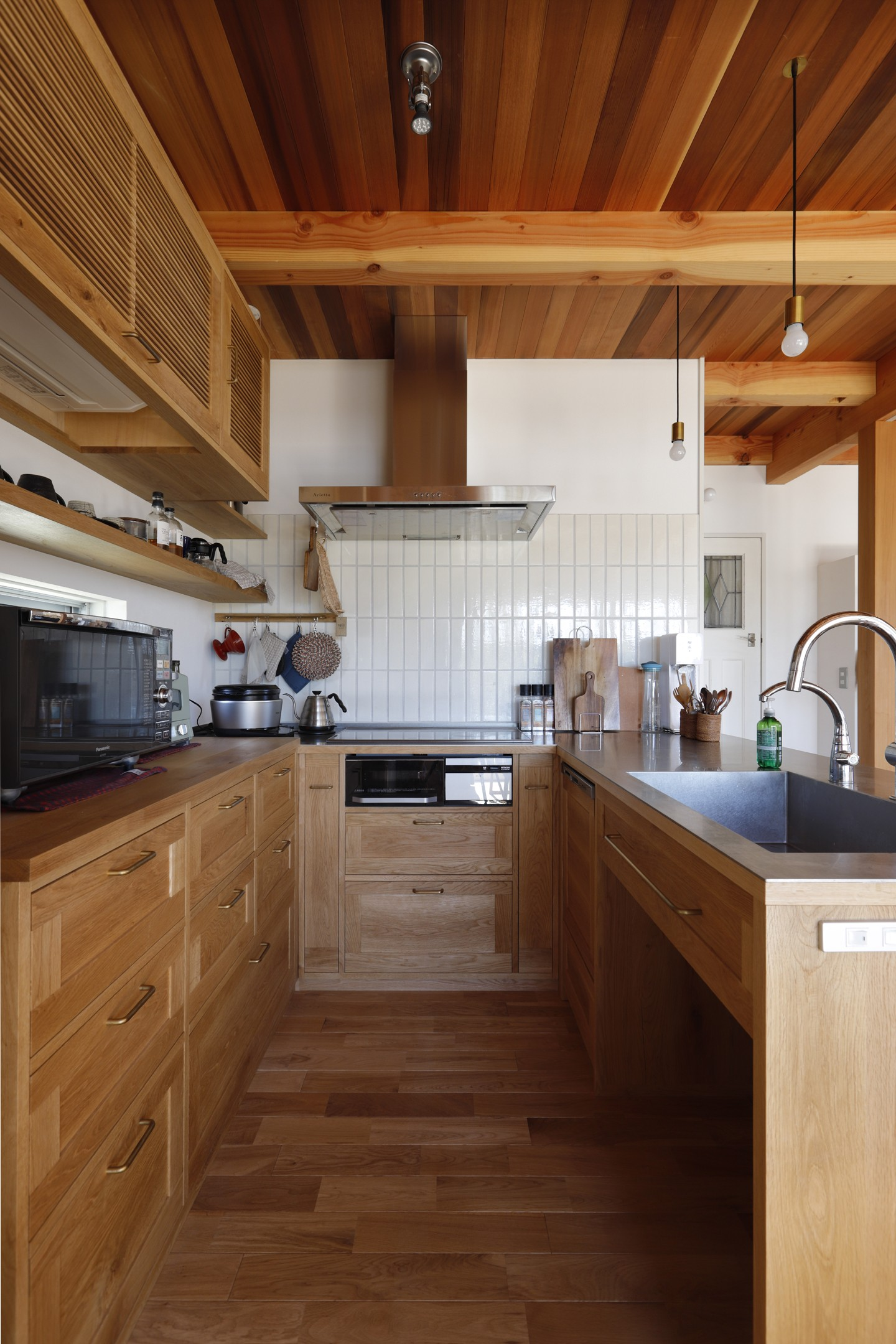 キッチン事例:キッチン(緑あふれる癒しの家)