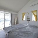 緑あふれる癒しの家の写真 寝室