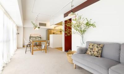 S邸-壁に色を塗りたい!夢とこだわりの詰まった寝室