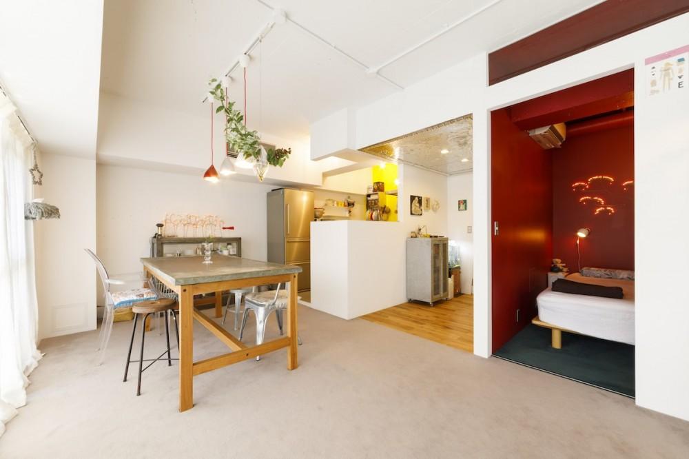 S邸-壁に色を塗りたい!夢とこだわりの詰まった寝室 (ダイニング)