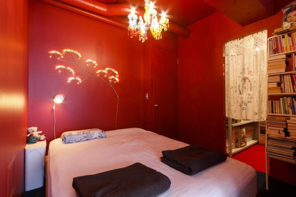 S邸-壁に色を塗りたい!夢とこだわりの詰まった寝室 (寝室)