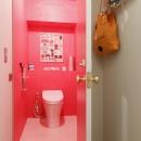 S邸-壁に色を塗りたい!夢とこだわりの詰まった寝室の写真 トイレ