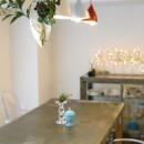 S邸-壁に色を塗りたい!夢とこだわりの詰まった寝室の写真 テーブル