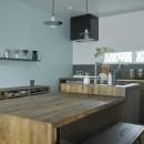 salon-「ここだけ」のリノベでつくる自分たちらしい空間の写真 キッチン