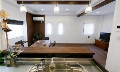 キッチン|Sunny warm style