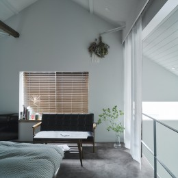 salon-「ここだけ」のリノベでつくる自分たちらしい空間 (寝室)