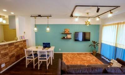憧れのカフェ&ヴィンテージデザインで統一したマイホーム