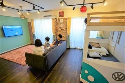 憧れのカフェ&ヴィンテージデザインで統一したマイホーム (LDK2)