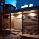 斜光の家の写真 外観夜景