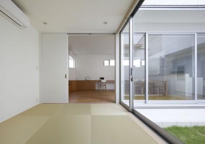 和室 (ダイヤモンドカットの家 – 働く覚悟と白いダイヤモンド –)