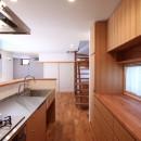 家族の時間を楽しむ家~北欧インテリアの家~の写真 キッチン