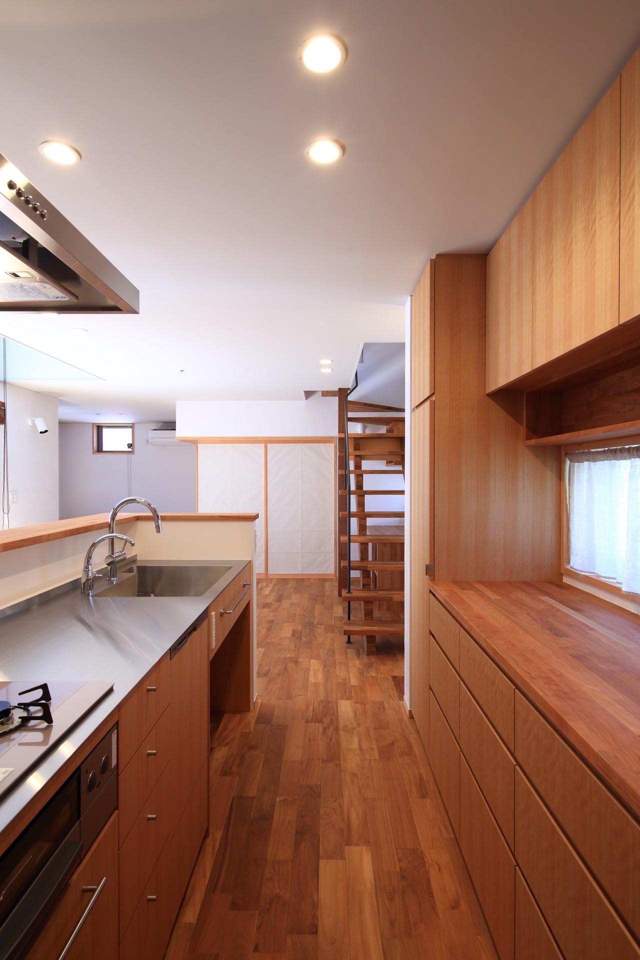 キッチン事例:キッチン(家族の時間を楽しむ家~北欧インテリアの家~)