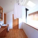 家族の時間を楽しむ家~北欧インテリアの家~の写真 ファミリースペース