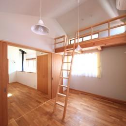 家族の時間を楽しむ家~北欧インテリアの家~ (子供室)