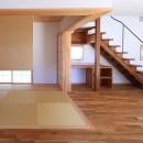 家族の時間を楽しむ家~北欧インテリアの家~の写真 和室
