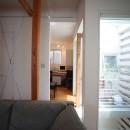 光庭の家 – 敷地条件を諦めない改修<リノベーション> –の写真 2階書斎をみる
