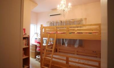 光庭の家 – 敷地条件を諦めない改修<リノベーション> – (子供部屋)