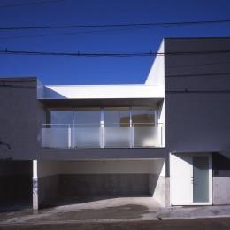 日立の2世帯住宅 (外観)
