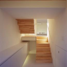 階段 (日立の2世帯住宅)