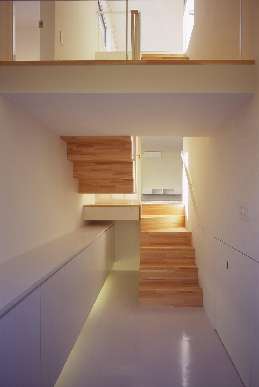 日立の2世帯住宅 (階段)