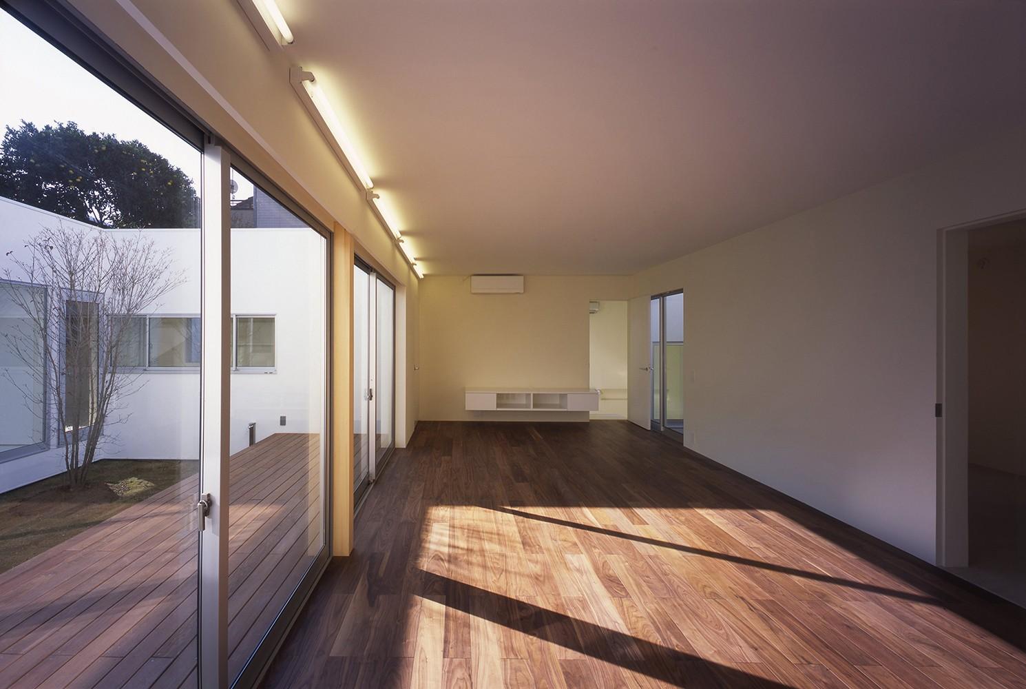 リビングダイニング事例:1階LDKスペース(日立の2世帯住宅)