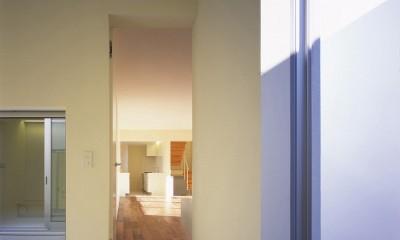 日立の2世帯住宅 (1階寝室)