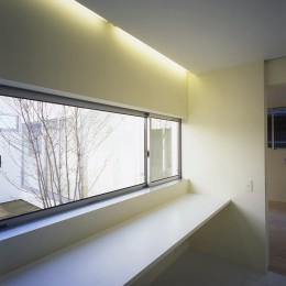日立の2世帯住宅 (1階書斎スペース)