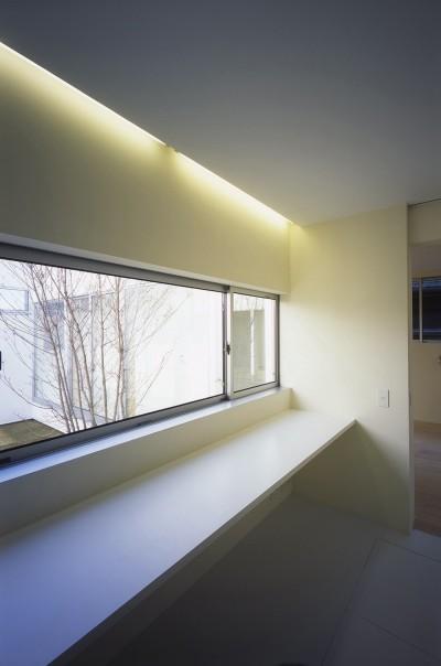 1階書斎スペース (日立の2世帯住宅)